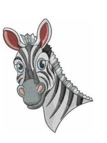 Zootiere: Zebrakopf