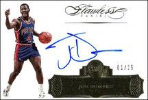 JOE DUMARS / Flawless Autograph - No. FA-JD  (#d 1/25)