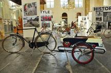 Zomer tentoonstellling 2014 Amsterdamfietsmuseum in de Oosterkerk
