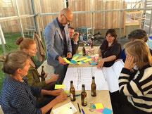 Brainstorm bij Cycle Space op Fietslab 2016, FabCity 2016