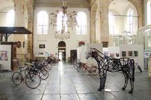 Zomer tentoonstelling  2013 Amsterdamfietsmuseum in de Oosterkerk