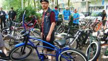 Slowbike ride 2015  Start vanaf Amsterdamfietsmuseum Oosterkerk