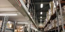 Ledverlichting voor magazijnen, Ledverlichting voor bedrijfshallen, magazzijn ledverlichting, led lijnverlichting BBM ledproducts