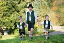 Unsere Söhne Andreas, Simon und Eliah