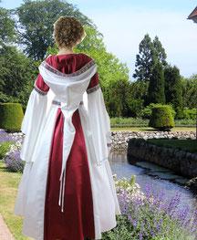 Mittelalter Hochzeitskleid,Mittelalterkleid in Maßanfertigung, Atelier Mittelalter-Fashion