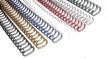 Wire-O Bindung 2:1 verschiedene Farben