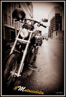 La mas simple #Motocicleta de esta concentración de moteros jamás se creyó que sería la elegida.