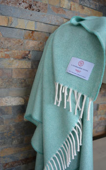 Lambswool Cosy - Mint - S. Fischbacher Living