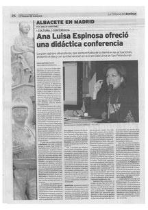 CHARLA MADRID CANTO Y MUSICOLOGÍA