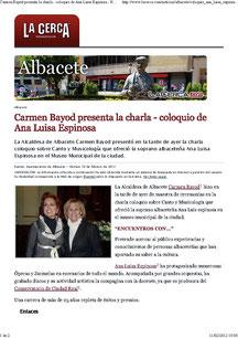 CHARLA MUSICOLOGÍA ALBACETE