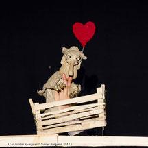 """17 décembre 2012, spectacle """"En attendant Coco..."""", La grange aux loups, Chauvigny."""