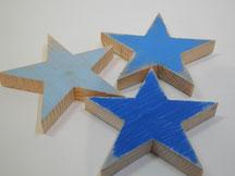 --QUATTRO STELLE-- Sterne aus Altholz