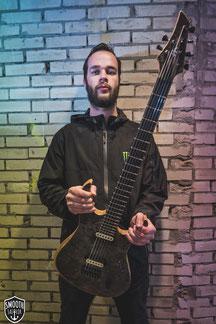 jurgen straaten for i am king vandermeij magistra custom guitar