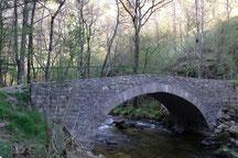 Pont du moulin Paquette sur le Lignon