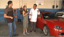 """El Mtro. José Francisco Montaño Ayala, en el programa de Televisa """"Aquí Estamos""""."""
