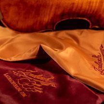 Защитный фирменный чехол Laubach- VIOLIN PROFISSIMO из натурального шелка для скрипки 3/4 - 4/4 купить