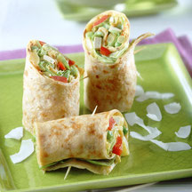 Vitaquell Rezept Hawaii-Wraps