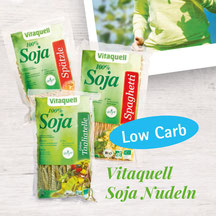 Vitaquell – Download Flyer Bio Soja-Nudeln