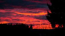 Sonnenaufgang vom 07.02.2014