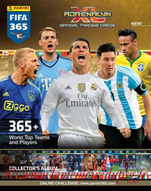 Panini Football League 2015 - PFL12 - Couverture Album