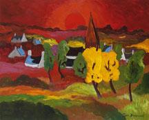 Souvent oubliés, nos villages chantent le crépuscule