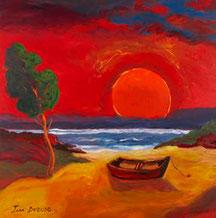 Une barque au soleil