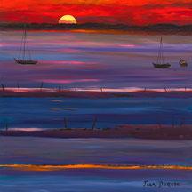 Calme d'un soir au Golfe