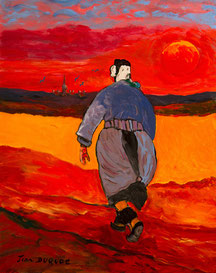 Femme de la Terre. Format 81x100 cm