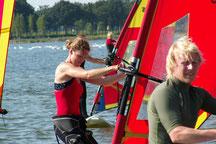 Referendar Fortbildung Wassersport Niederlande