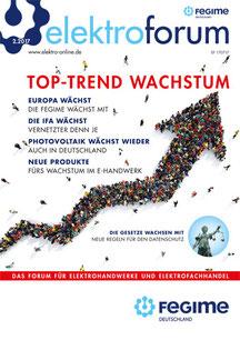 Die Zeitschrift für Elektrotechnik Interessierte