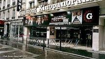 LE KINOPANORAMA, cinéma  mythique du 15ème arrondissement de PARIS aujourd'hui disparu.