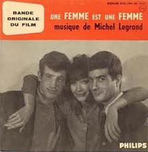 La musique de Michel Legrand  pour le film Une femme est une femme de Jean Luc Godard avec Anna Karina Jean Paul Belmondo et Jean Claude Brialy