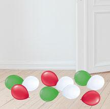 Miniballons Mini Ballons Luftballon Deko Dekoration Streuartikel Party Feier Geburtstag Hochzeit Hochzeitstag Liebe  Jubiläum Boden Tisch