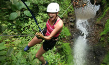 Waterfall rappel - Canyoning