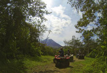 Atv Tour near Arenal Volcano