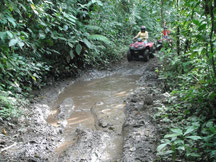 Adventure tour in Arenal