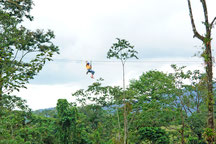 Twin cables Canopy Tour