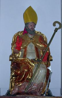 Duomo: Statua S. Nicola in legno