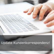 E Mail Training, Korrespondenz