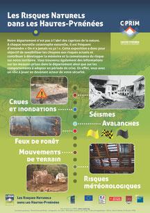 """Exposition """"Les risques naturels dans les Hautes-Pyrénées"""""""