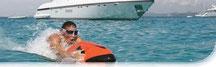 Alquila un SeaBob para completar tu alquiler de barco