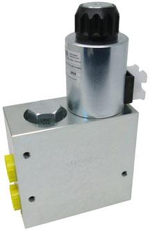 Proportional Stromregelventil WEBER HYDRAULIK