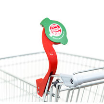 EIWAL® shopping cart magnifying glass at Spar