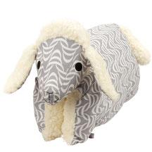 Kuscheltierkissen Schaf