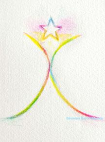 dessin. dessiner en conscience. lescerclesdelumiere.com. Tours 37000. Séverine Saint-Maurice. conscience. etoile