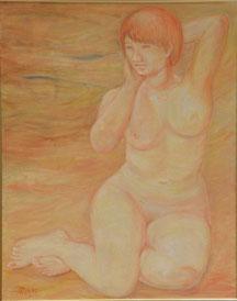 裸婦 油彩 30号