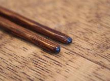 mokume,きぬや,オリジナル,山中温泉,木地師,手づくり,栗のお箸