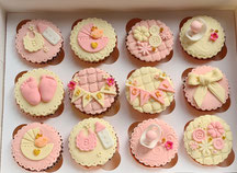 Cake inspirations baby shower cupcakes - wingate durham
