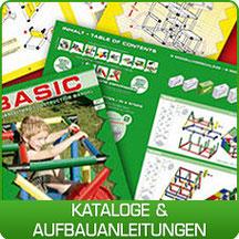 QUADRO Kataloge & Aufbauanleitungen