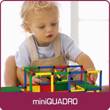 miniQUADRO Construction Toy